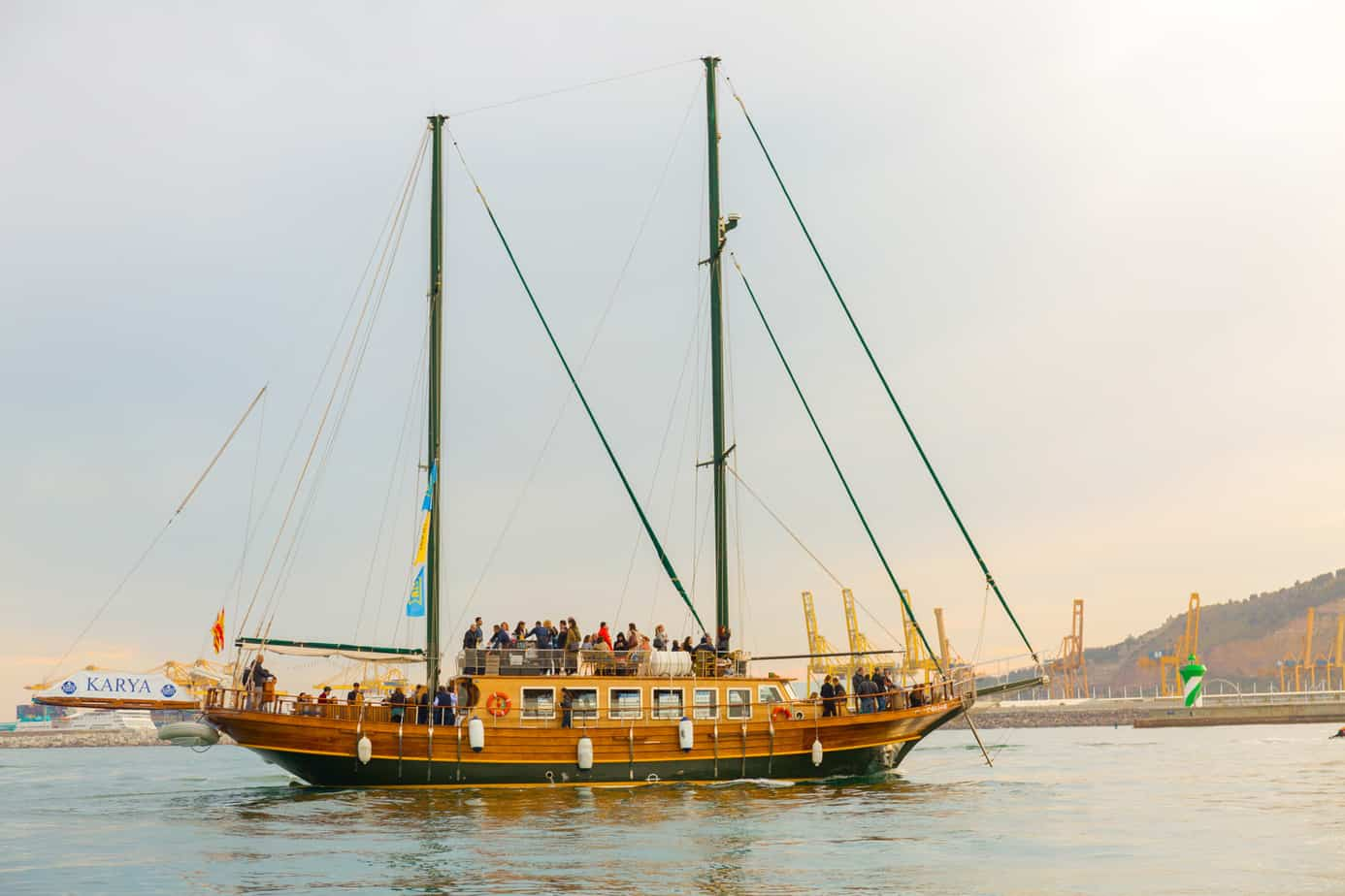 The Wooden Boat Tour