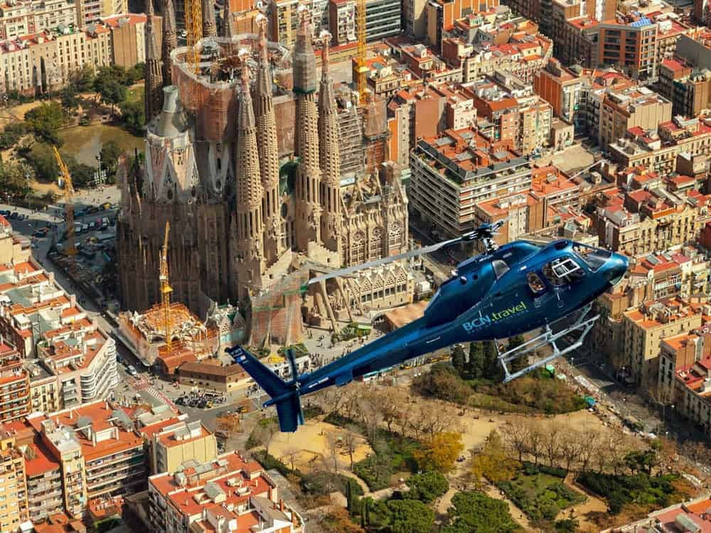 Barcelona Helicopter Tour 6res