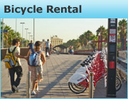 barcelona bike rental